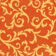 Mocheta deosebita portocalie(orange) pentru sali de evenimente ignifuga Mozart 64Pret
